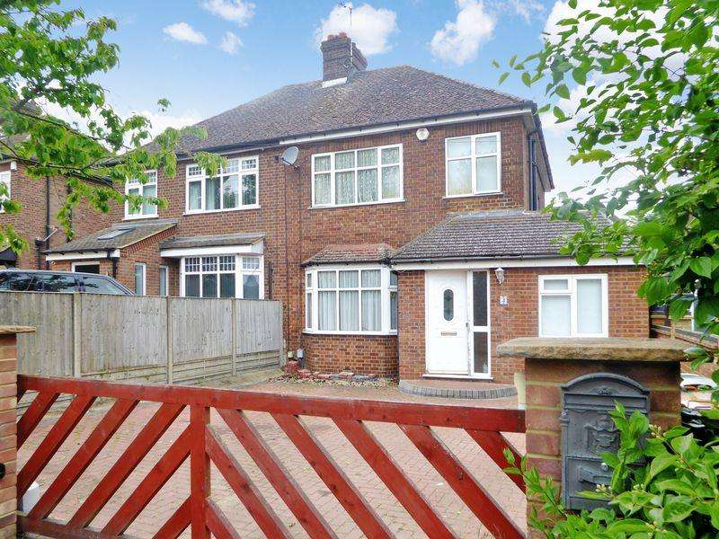 4 Bedrooms Semi Detached House for sale in Beech Road, Dunstable