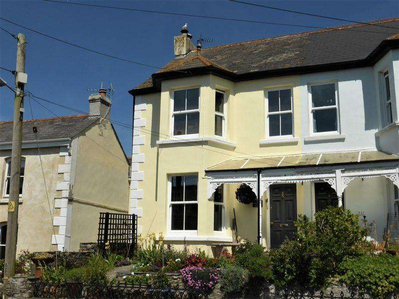 4 Bedrooms Terraced House for sale in North Street, Tywardreath