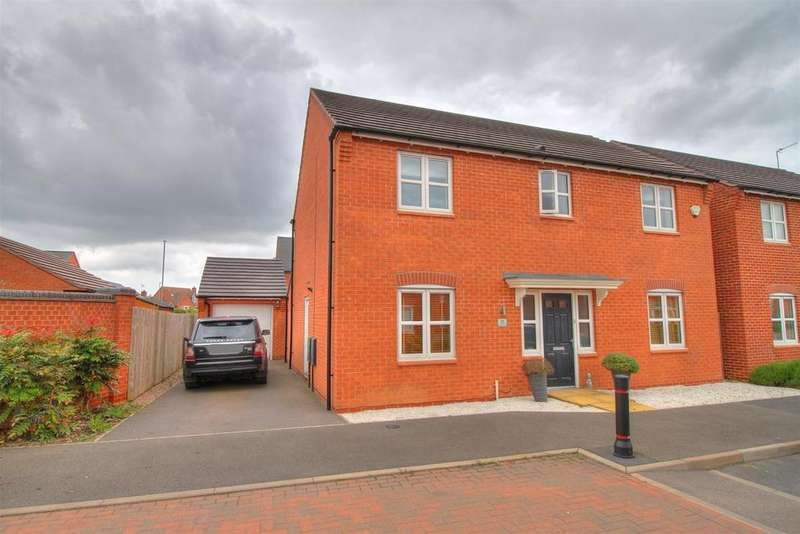 4 Bedrooms Detached House for sale in Farley Crescent, Ibstock