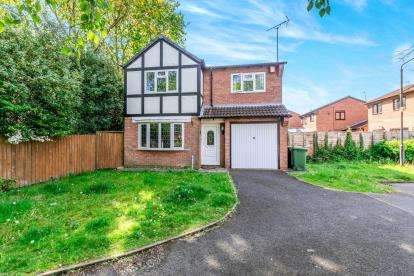3 Bedrooms Detached House for sale in Woodbridge Close, Bloxwich, Walsall, West Midlands