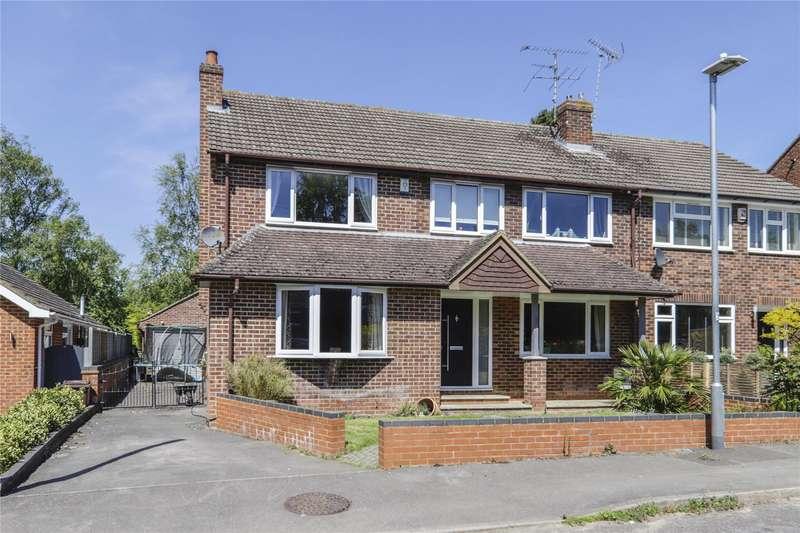 4 Bedrooms Semi Detached House for sale in Bankside, Finchampstead, Wokingham, Berkshire, RG40