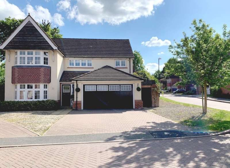 4 Bedrooms Detached House for sale in Barnard Close, Rubery, Birmingham, B45