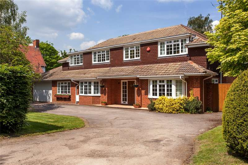 5 Bedrooms Detached House for sale in Braybrooke Road, Wargrave, Berkshire, RG10