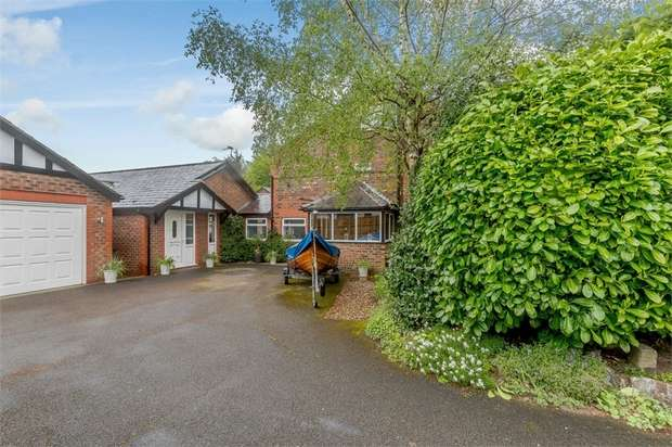 5 Bedrooms Semi Detached House for sale in Elmhurst Farmhouse and The Buttery, School Lane, Rixton, Warrington, Cheshire