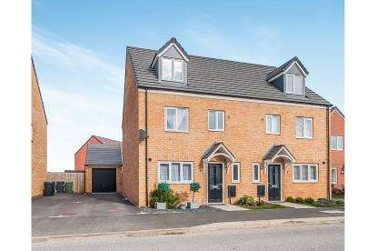 4 Bedrooms Semi Detached House for sale in Bellona Drive, Peterborough, Cambridgeshire