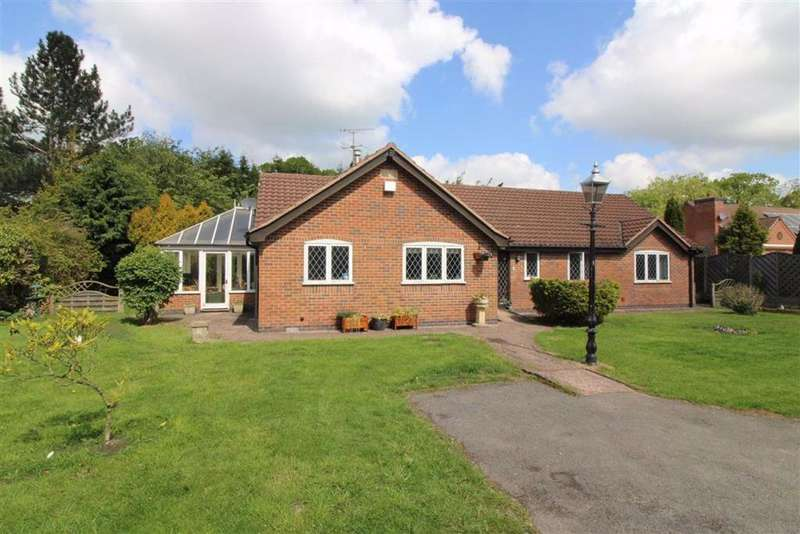 3 Bedrooms Detached Bungalow for sale in Links Road, Kirby Muxloe