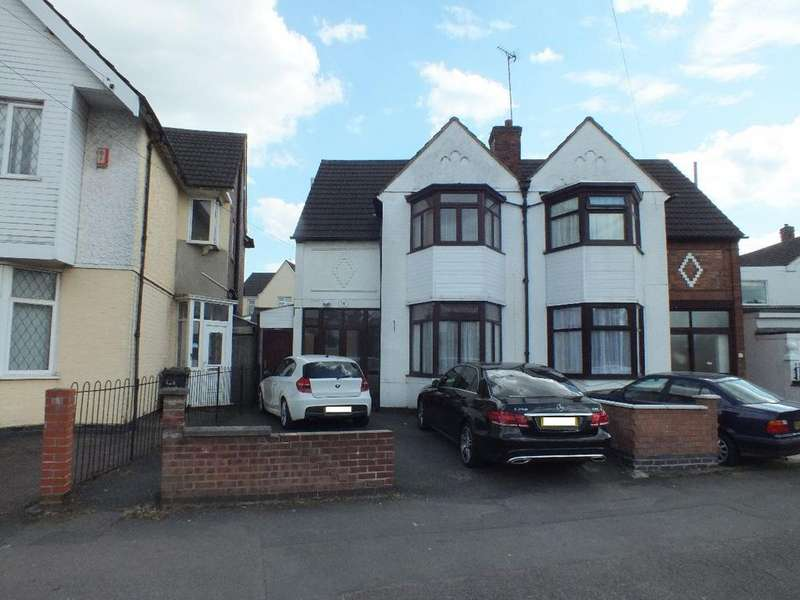 3 Bedrooms Semi Detached House for sale in Evington Drive, Leicester, LE5 5PF