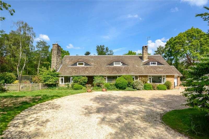 5 Bedrooms Detached House for sale in Range Road, Finchampstead, Wokingham, Berkshire, RG40