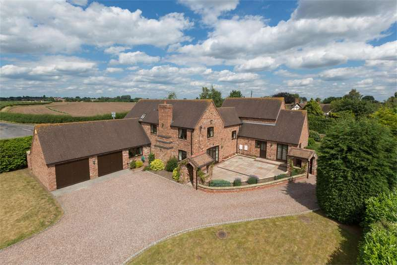 4 Bedrooms Detached House for sale in The Old Dairy, Crudgington, Telford, Shropshire, TF6