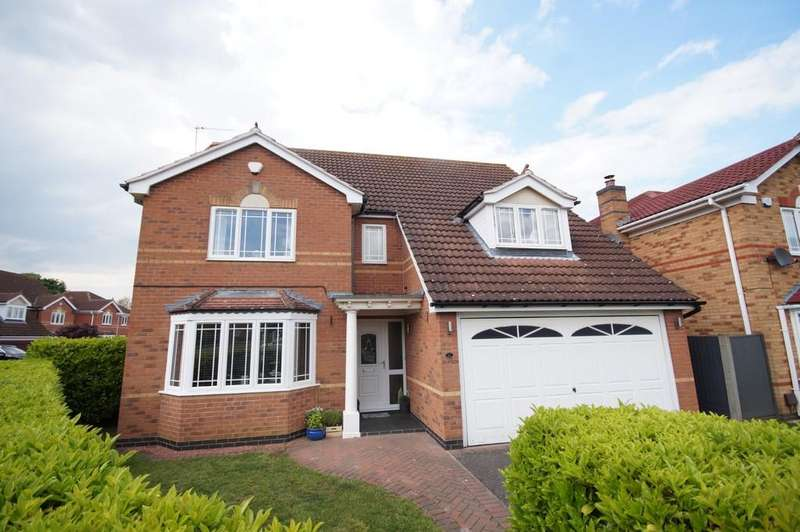 4 Bedrooms Detached House for sale in Beckhall, Welton
