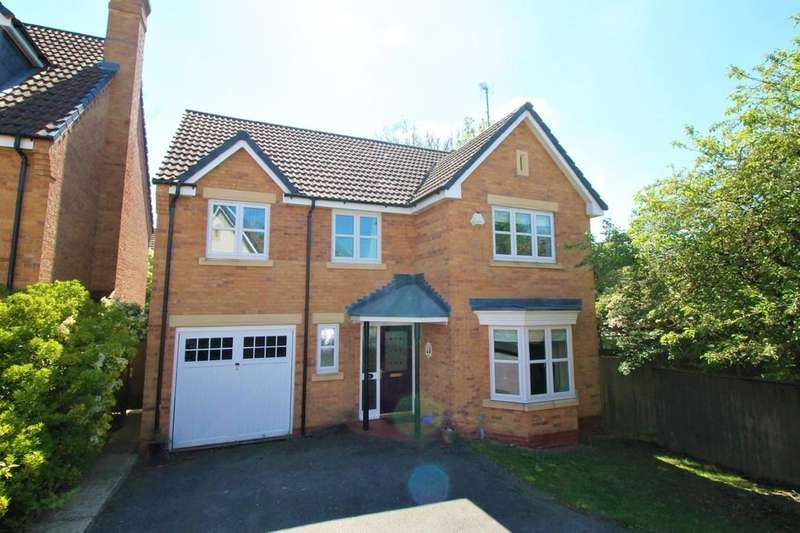 4 Bedrooms Detached House for sale in Davies Close, Market Harborough