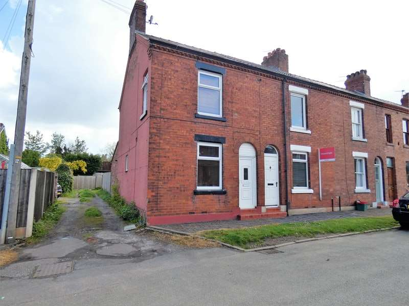 2 Bedrooms End Of Terrace House for sale in Manor Street, Northwich, Cheshire, CW8