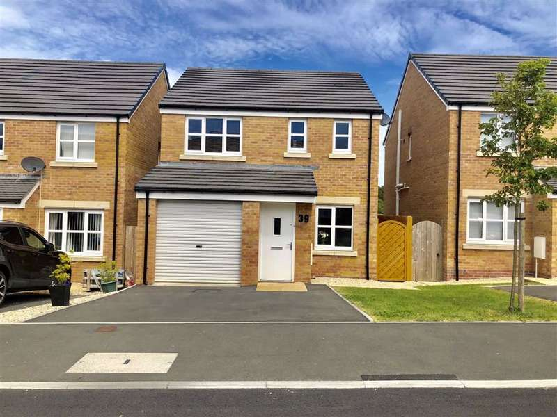 3 Bedrooms Detached House for sale in Dan Y Cwarre, Carway, Kidwelly