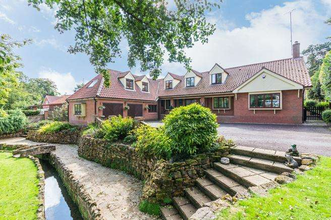 6 Bedrooms Detached House for sale in The Hollies, Main Street, Woodborough, Nottinghamshire NG14 6EA