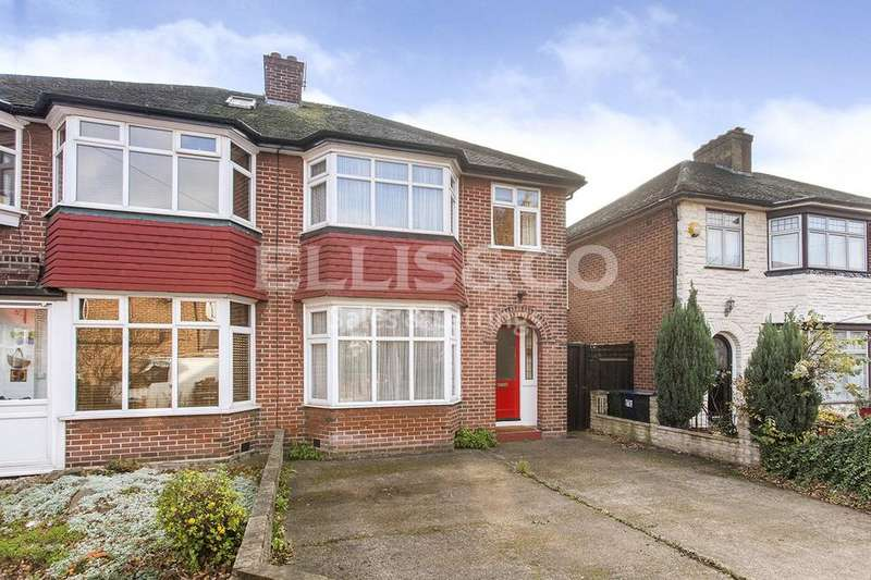 3 Bedrooms Semi Detached House for sale in Pentland Close, London, NW11