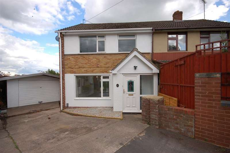 3 Bedrooms Semi Detached House for sale in Brompton Close, Kingswood, Bristol, BS15 9UX