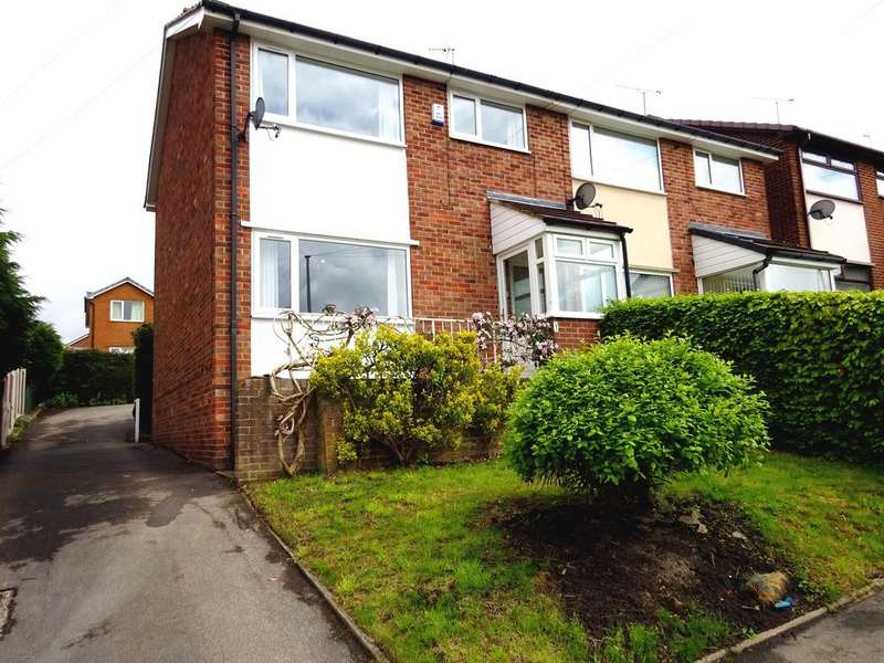 3 Bedrooms Semi Detached House for rent in 1 Chancet Wood Close, Meadowhead, Sheffield S8 8TU