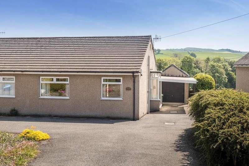 2 Bedrooms Semi Detached Bungalow for sale in Hillbrae, Dove Nest Lane, Endmoor