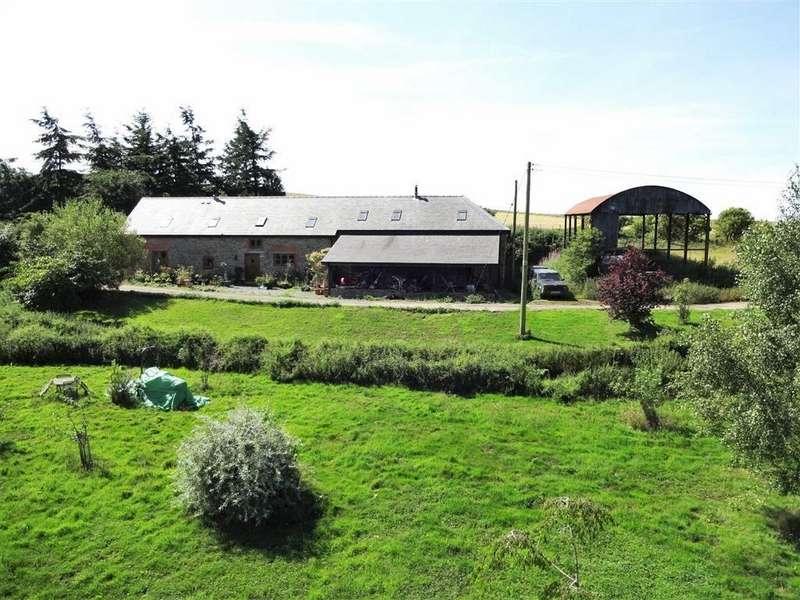3 Bedrooms Unique Property for sale in Gwern Y Go Hill Farm, Sarn, Newtown, Powys, SY16