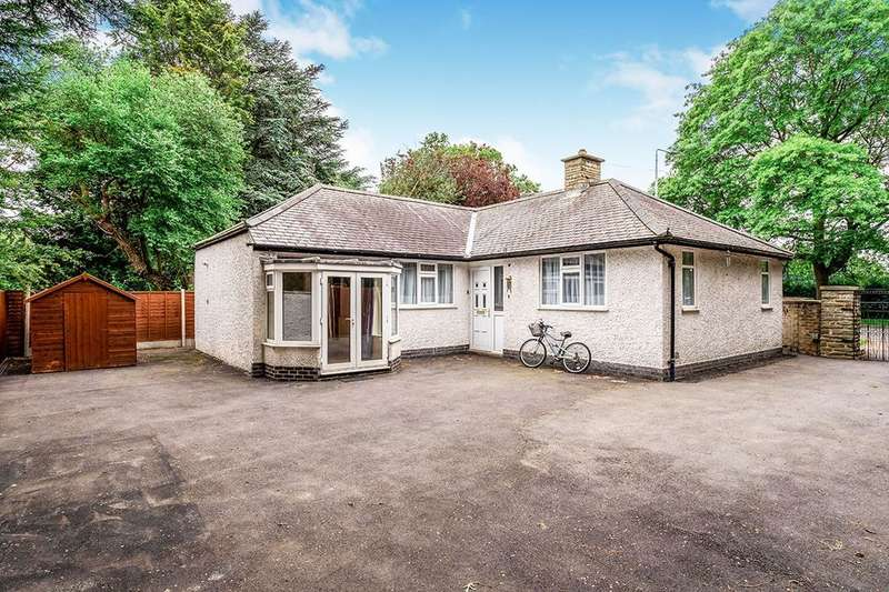 2 Bedrooms Detached Bungalow for sale in Manor Road, Oadby, Leicester, LE2