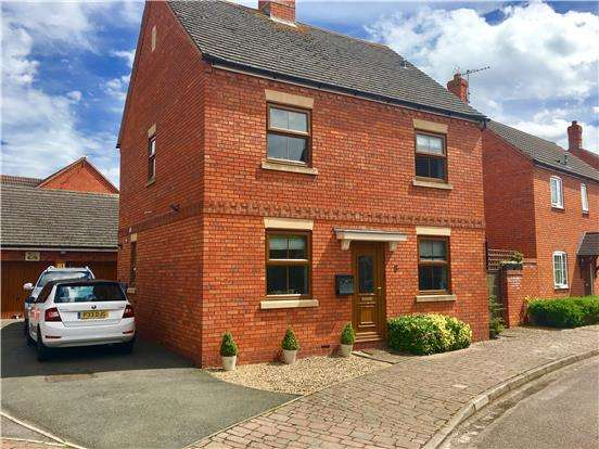 3 Bedrooms Detached House for sale in 8 Palm Road, Walton Cardiff, TEWKESBURY, Gloucestershire, GL20 7RD
