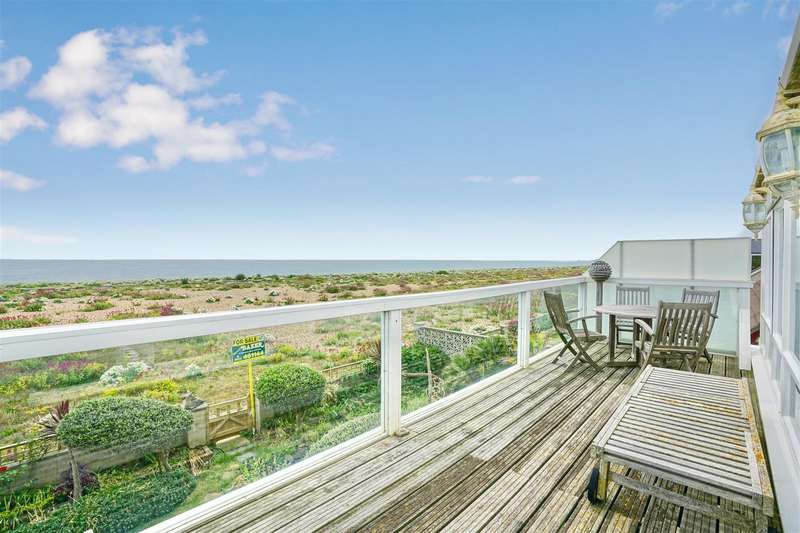 4 Bedrooms Detached House for sale in Old Fort Road, Shoreham Beach, Shoreham by Sea