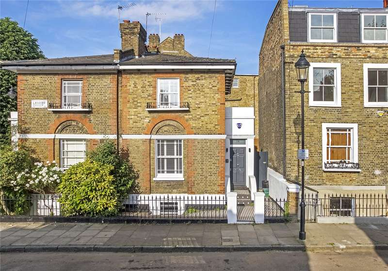 4 Bedrooms Semi Detached House for sale in Lambert Street, London, N1