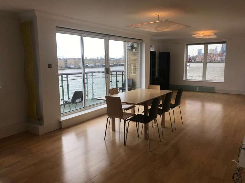 2 Bedrooms Penthouse Flat for sale in 100 Narrow Street, London, E14