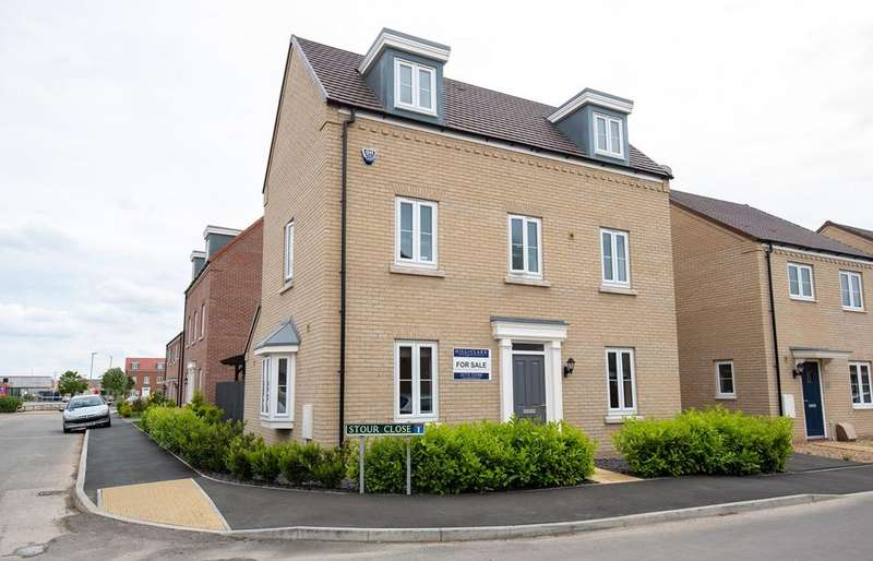 3 Bedrooms Detached House for sale in Stour Close, Spalding, PE11