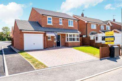 4 Bedrooms Detached House for sale in Kathleen Close, Glenfield