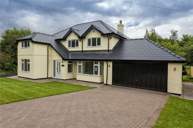 4 Bedrooms Detached House for sale in Bridge Road, Old St Mellons, Cardiff, South Glamorgan