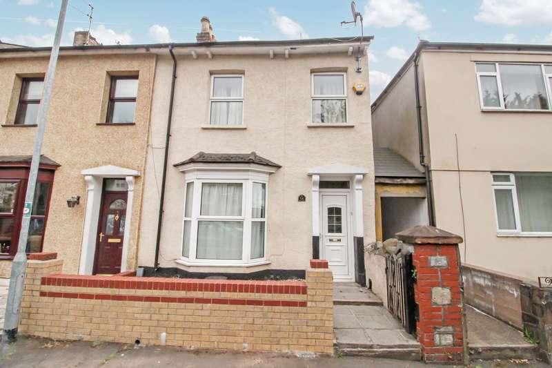 2 Bedrooms Terraced House for sale in Fairoak Avenue, Newport, NP19