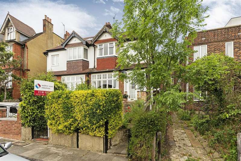4 Bedrooms Semi Detached House for sale in Dora Road, Wimbledon