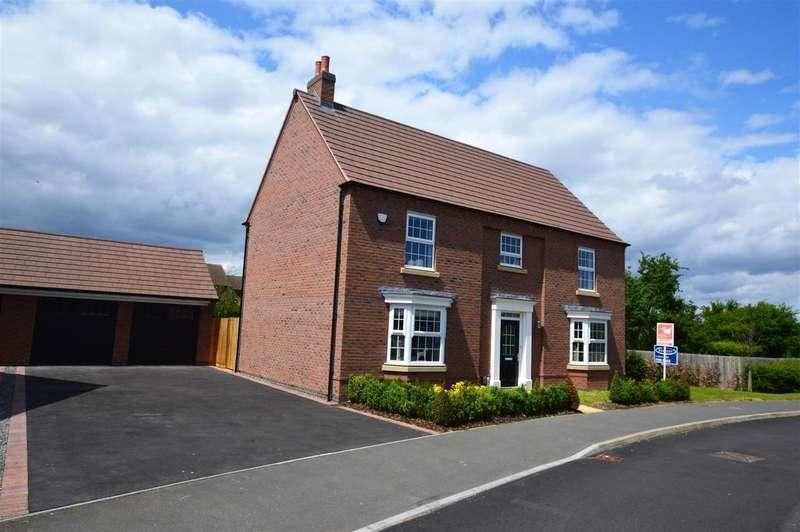 5 Bedrooms Detached House for sale in Cornflower Way, East Leake