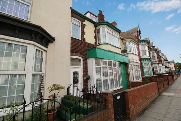 4 Bedrooms Terraced House for sale in Stockton Road, Hartlepool, Cleveland, TS25 1RW
