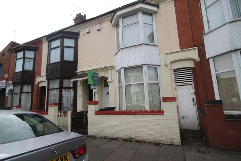 5 Bedrooms Terraced House for sale in Equity Road, West End, Leicester LE3