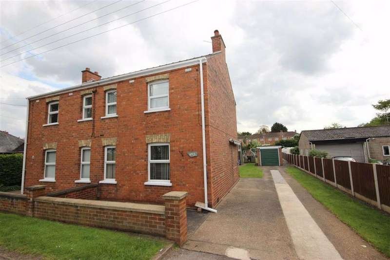 3 Bedrooms Semi Detached House for sale in Fen Road, Washingborough, Lincoln, Lincolnshire