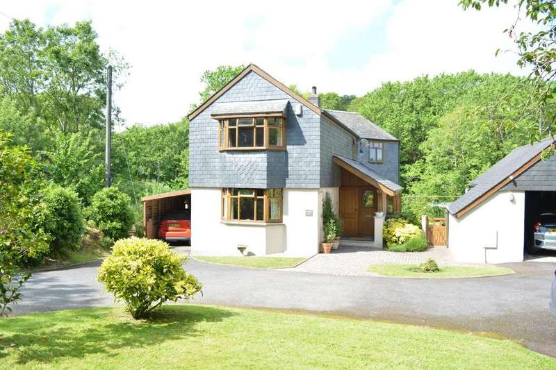 3 Bedrooms Detached House for sale in Penberth Valley, St. Buryan