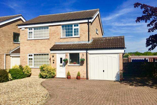 4 Bedrooms Link Detached House for sale in Cranmere Road, Melton Mowbray, LE13
