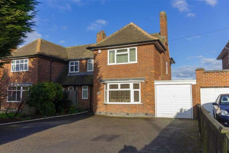 3 Bedrooms Semi Detached House for sale in Loughborough Road, Birstall, LE4