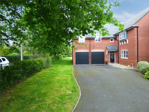 4 Bedrooms Detached House for sale in Stubbs Lane, Lostock Gralam, Northwich, Cheshire