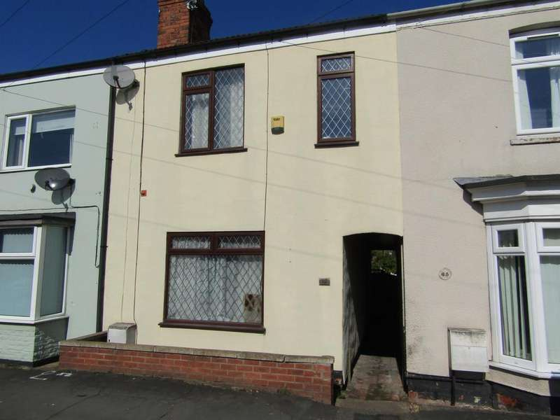 2 Bedrooms Terraced House for sale in Melrose Road, Gainsborough, DN21 2SA