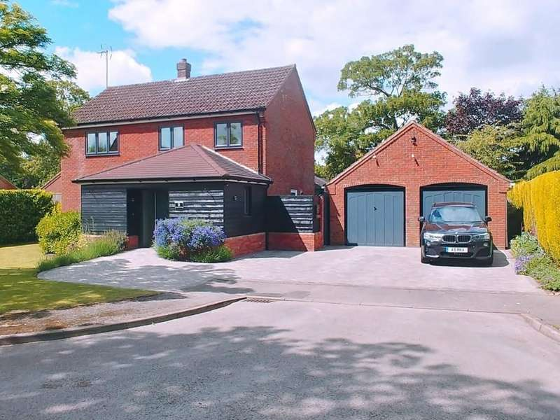4 Bedrooms Detached House for sale in Manor Gardens, Wisbech