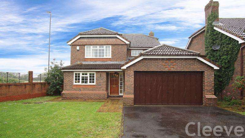 4 Bedrooms Detached House for sale in Yarlington Close, Bishops Cleeve