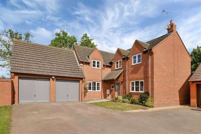 4 Bedrooms Detached House for sale in Rose Dale, North Kilworth, Leicestershire