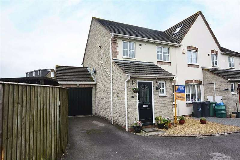 3 Bedrooms Semi Detached House for sale in Griffon Close Quedgeley