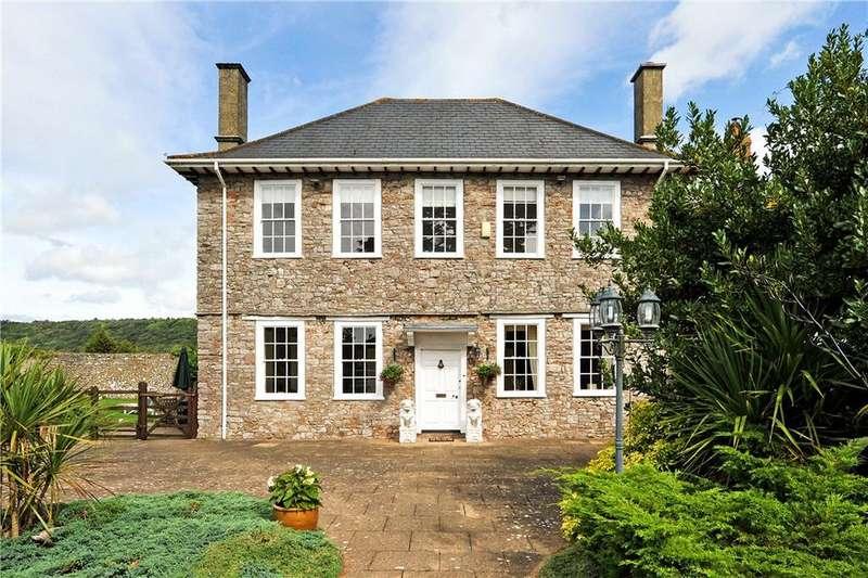5 Bedrooms Detached House for sale in Tickenham Hill, Tickenham, Clevedon, Somerset, BS21