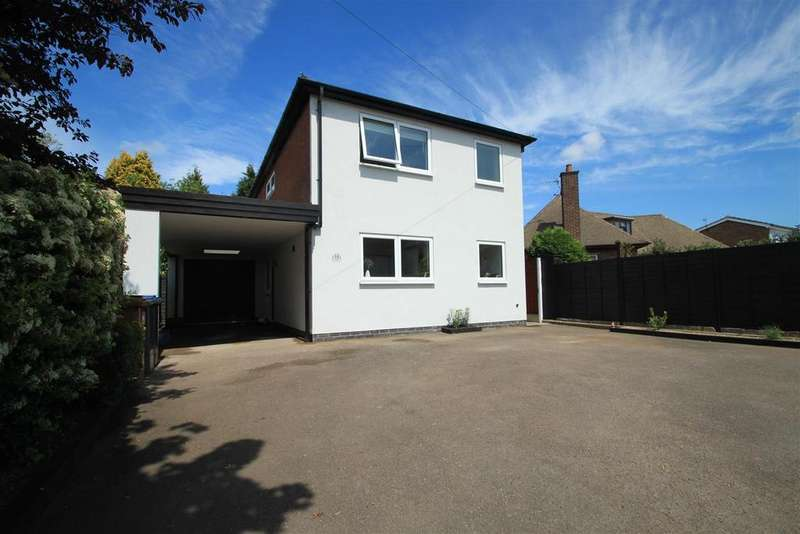 4 Bedrooms Detached House for sale in Springfield Road, Hinckley