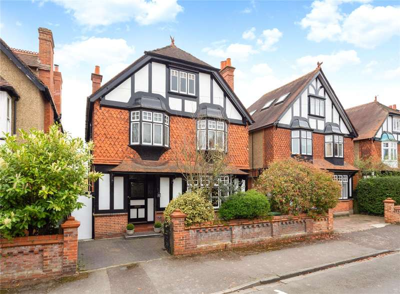 5 Bedrooms Detached House for sale in Laburnham Road, Maidenhead, Berkshire, SL6