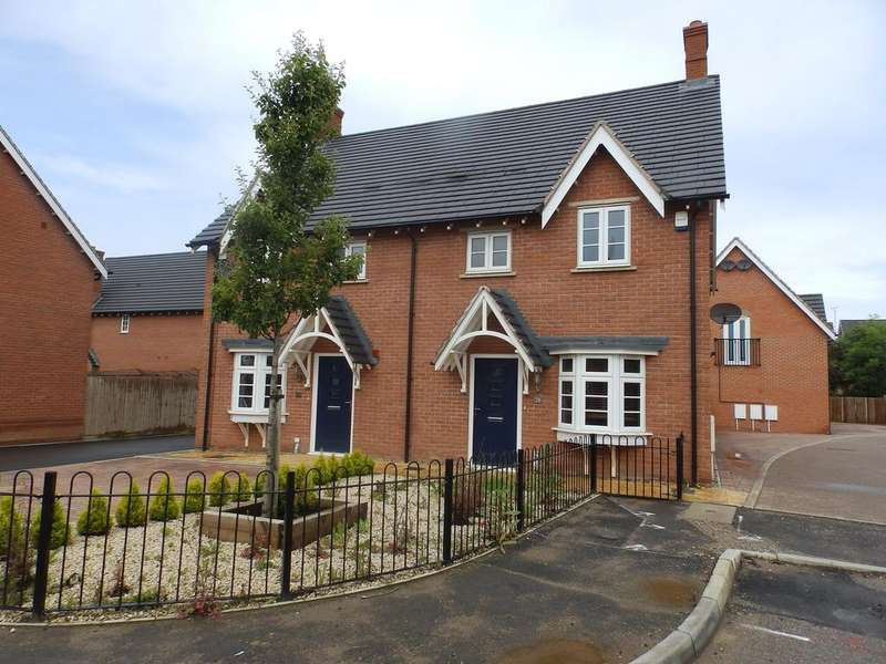 3 Bedrooms Semi Detached House for rent in Cypress Road, Barrow Upon Soar, Leicester LE12